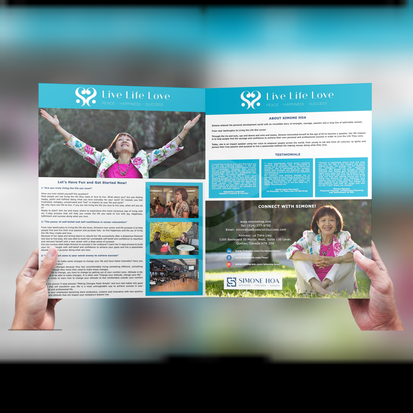 Simone Hoa Brochure
